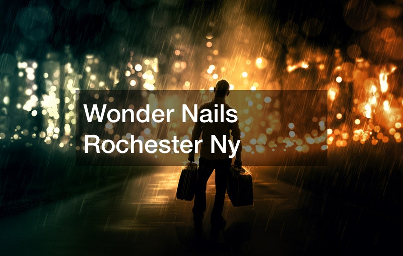 Wonder Nails Rochester Ny