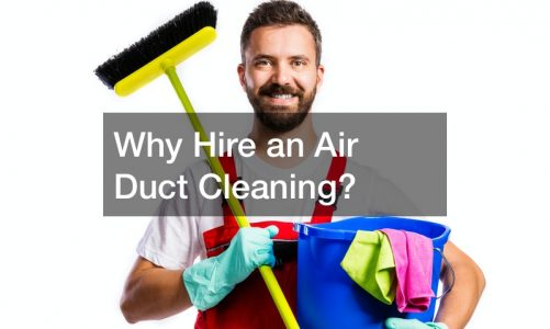 Why Hire an Air Duct Cleaning Company